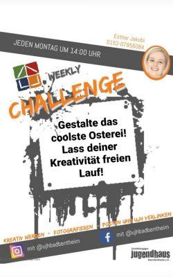 Challenge - Woche 1 - Osterei