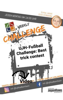 Plakat - Woche 2 - Fussball
